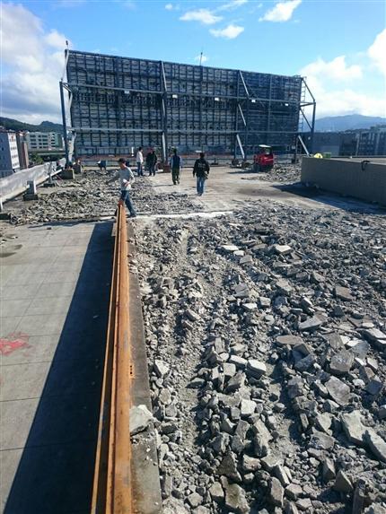 500坪商場屋頂防水