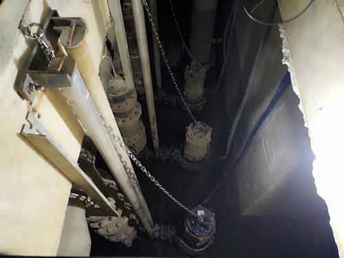 完工消息/本公司承攬「A15站出土段集水坑泵浦更新工程」於2021/5/24完工