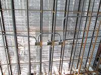 金屬網噴漿隔間牆-水電管路組裝