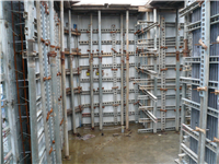 清水模免拆造型模板(建築牆板結構)