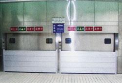 停車場入口防水閘門