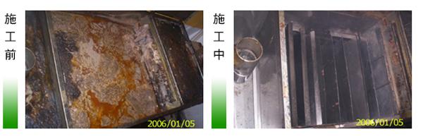 微風廣場-截油槽清洗