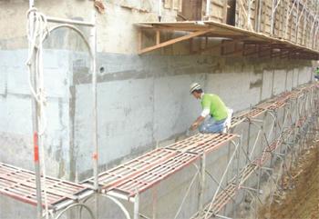地下室外墙防水