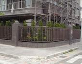 不銹鋼烤漆圍牆欄杆
