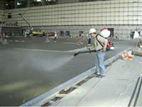 飛機維修棚地坪整體粉光工程