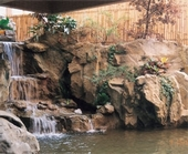 GRC.FRP.仿岩、假山、瀑布