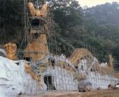 GRC、大型噴漿、仿岩、雕塑、造型、塑造