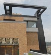 007氟碳包板屋突造型