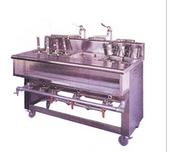 煮麵機附雙口湯爐