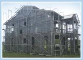 鋼架鋼網牆