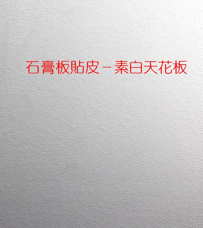 石膏板-貼皮素白天花板