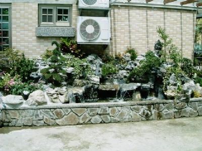 欧式庭院水池造景