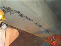 混凝土灌注後 蜂巢及鋼筋外露補強