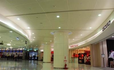 立體扇形吸音天花板
