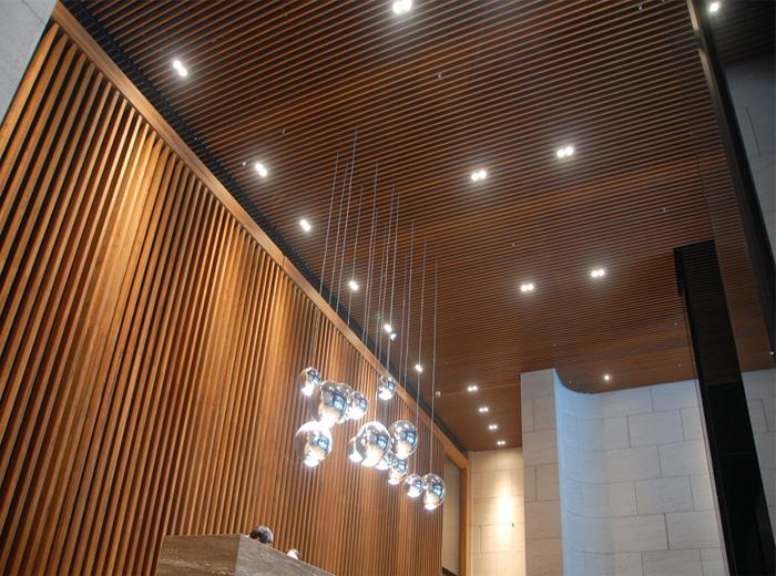 金屬沖孔天花板