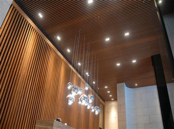 木紋鋁障板天花