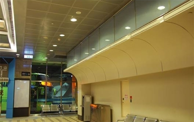金屬方塊天花板