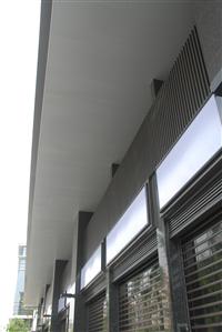 立體凹凸長條型吸音天花板