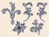 ��/ű�y�ḭ~Wrought/Cast iron leaves