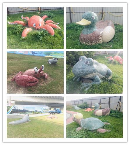 FRP動物造型-公園藝術雕塑