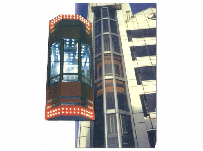 透明展望電梯