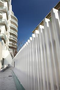 金屬格柵圍牆圍籬