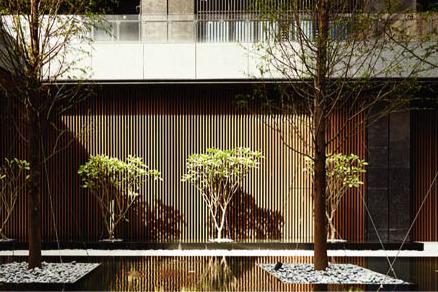 木紋外飾鋁格柵