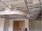 輕鋼價造型天花板 〈施工中〉