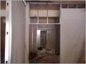輕鋼架隔間工程  〈施工中〉