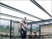 鐵皮屋、不鏽鋼窗框