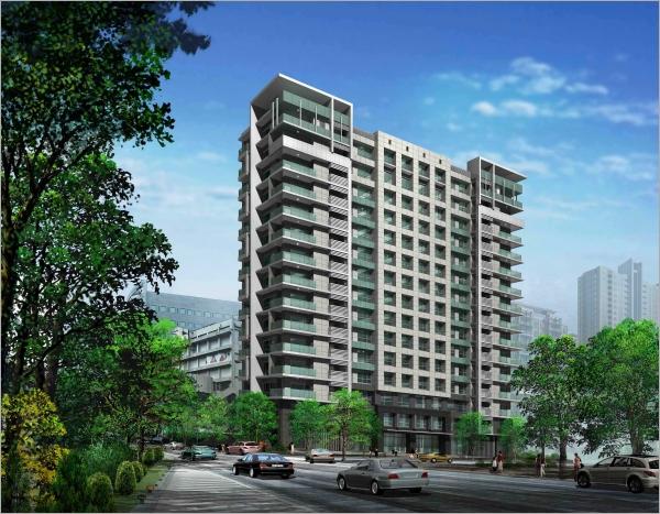 松江敦華-ALC輕質白磚施工