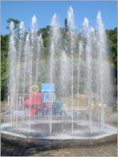 兒童戲水水舞噴泉池