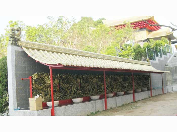 8-寺廟建築-圍牆雕飾