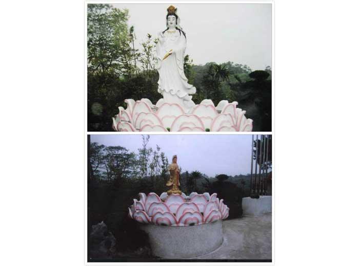 11-上圖佛像/下圖蓮花池