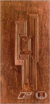 門當戶對銅雕門(德國原裝進口)