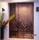 經典之作~Guwa 原裝進口銅雕門