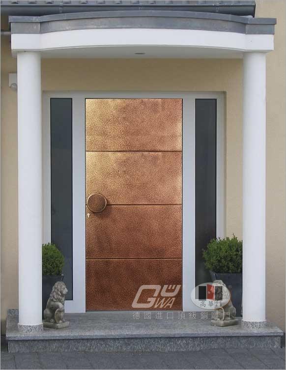 金色年代~ (二) 德國原裝進口銅雕門