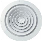 圓型旋轉(固定)式出風口