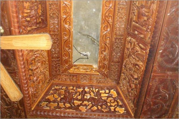 廟宇天花板裂縫漏水處理