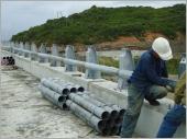 橋樑鋼管欄杆工程