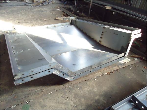 預鑄式結構鋼模