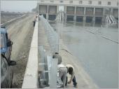 H型鋼管排水架安裝