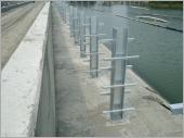 H型鋼管排水架安裝工程