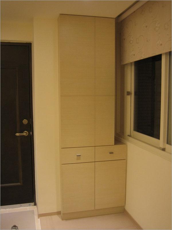 玄關木作儲藏櫃