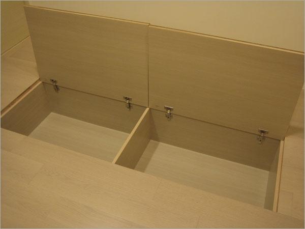 和室隱藏式儲藏櫃