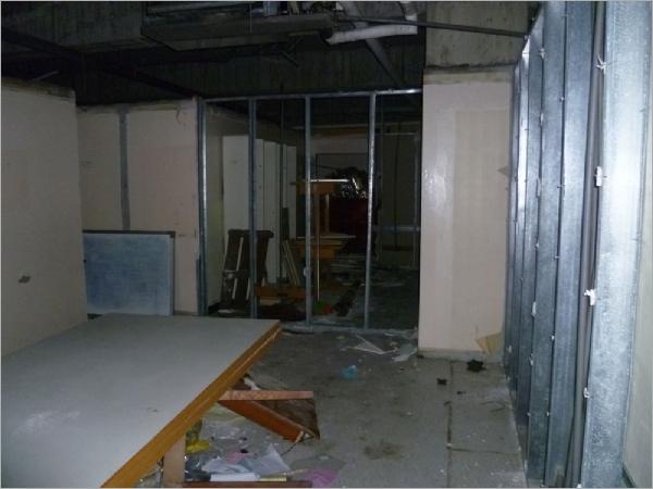 隔間拆除、天花板拆除