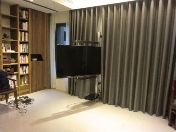 雙面旋轉式液晶電視架--壁面用