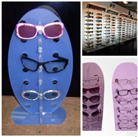 壓克力眼鏡展示架