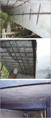 鋼筋銹蝕外露修復補強