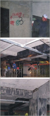 碳纖維營建結構修復補強